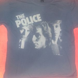 The Police blue tshirt Size XXL